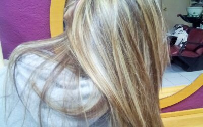 MECHAS TRICOTADAS CON EASY MECHES